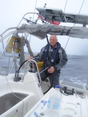 Storm Sailing New Zealand to Tahiti