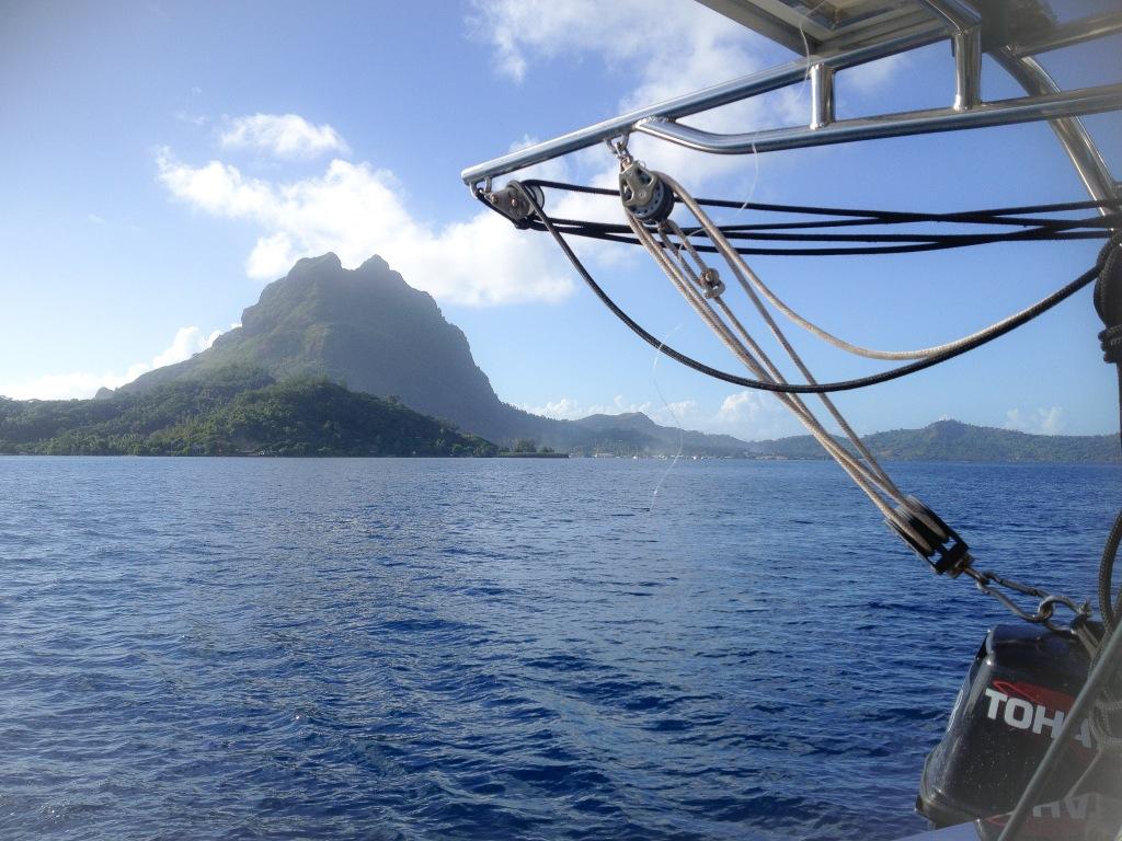 Sänna - Leaving French Polynesia