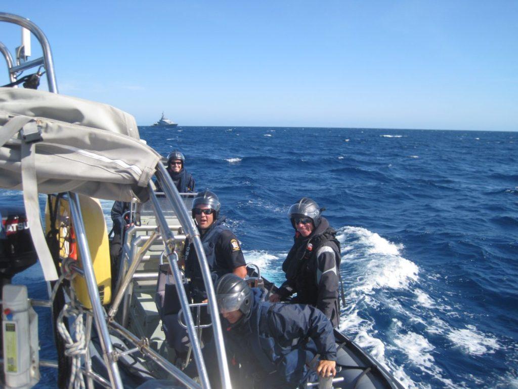 Sänna - New Zealand Navy