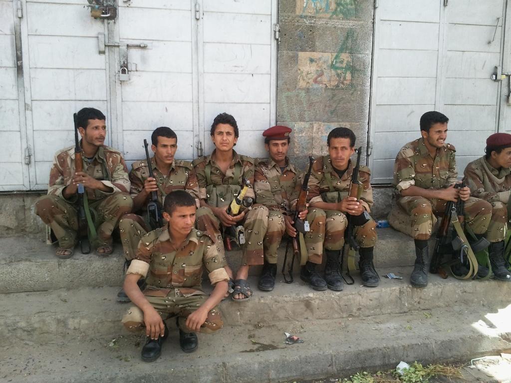 Sänna - Yemen soldiers