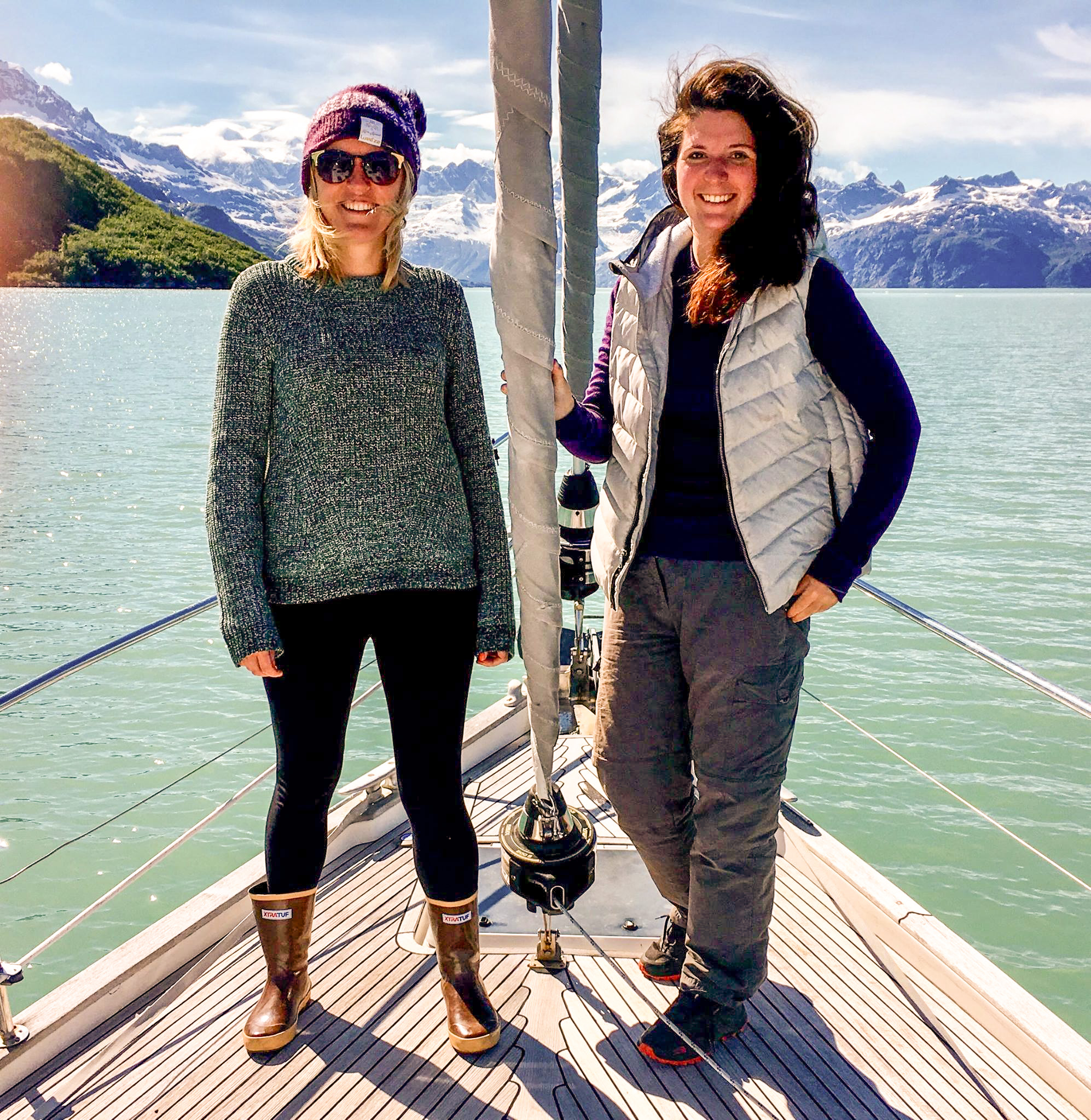 Louise Ungless & Sarah Carter Glacier Bay Alaska