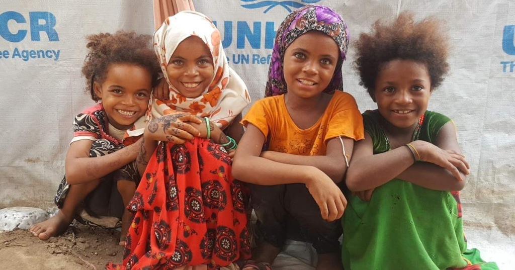 Sänna - Yemen children in Aden
